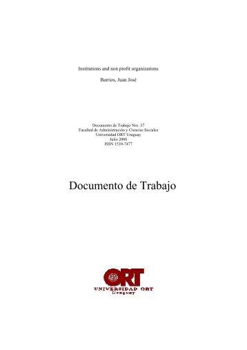 Documento de Trabajo - Universidad ORT Uruguay