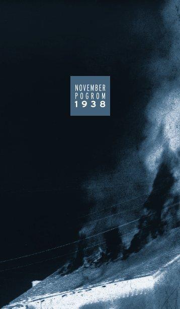 Novemberpogrom 1938 - Orte der Erinnerung