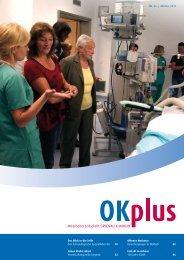 Mitarbeiterzeitschrift OKplus 36 - Ortenau Klinikum Portal