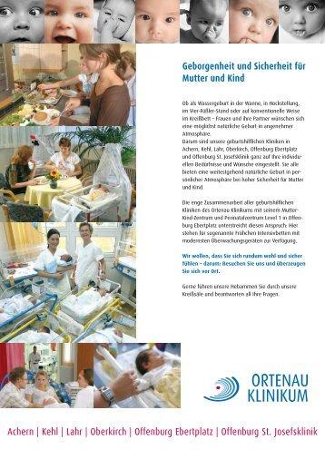 Achern | Kehl | Lahr | Oberkirch | Offenburg ... - Ortenau Klinikum