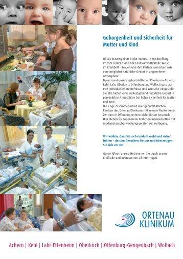 Kehl | Lahr-Ettenheim | Oberkirch | Offenburg ... - Ortenau Klinikum
