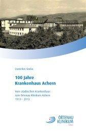 Chronik des Ortenau Klinikums Achern