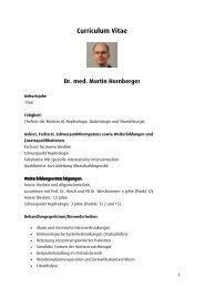 Dr. Martin Hornberger - Ortenau Klinikum