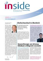 inside Ausgabe 01/2008 - Ortenau Klinikum