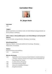 Dr. Jürgen Hautz - Ortenau Klinikum