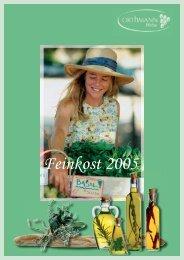 Feinkost 2005 - Orthmann-Weine