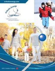 2011 Fall/Winter Footwear Catalogue - Orthotic Energy