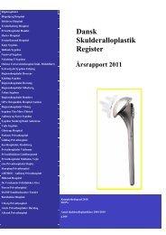 Årsrapport 2011 - Dansk Ortopædisk Selskab