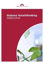 Statens Hotelhåndbog 2009/2010