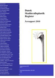 Dansk Skulderalloplastik Register Årsrapport 2010