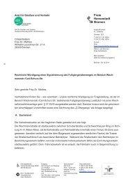 Carl-Schurz-Str Ampel rechtlich 301211 - Ortsamt Schwachhausen ...
