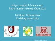 Interventionsskolor 7 st - Örebro universitet