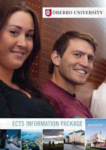 ects information package ects information package guide 2010/2011