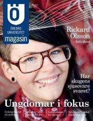 Ungdomar i fokus - Örebro universitet