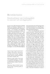 RECENSIONSESSÄ Demokratifostran som ... - Örebro universitet