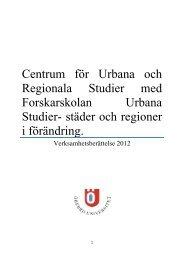 2012 - Örebro universitet