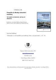 Införandet av sammanhållen journalföring i ... - Örebro universitet