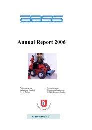 Annual Report 2006 - Örebro universitet