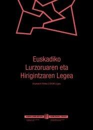 Euskadiko Lurzoruaren eta Hirigintzaren Legea - Euskal Herriko ...
