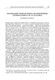 adatok közép- és kelet-európa orvosképzésének átformálásához a ...