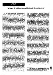A Magyar Orvosi Kamara megalakulásának elhúzódó története