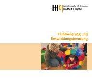 Frühförderung und Entwicklungsberatung - Heilpädagogischen Hilfe ...