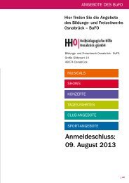 Anmeldeschluss: 09. August 2013 - Heilpädagogischen Hilfe ...