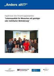 Abschlussbericht - Heilpädagogischen Hilfe Osnabrück