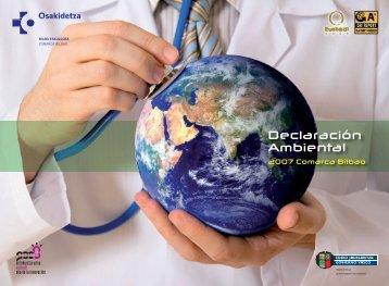 Declaración Ambiental 2007 ( pdf , 1,8 MB) - Osakidetza
