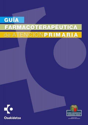 Guía Farmacoterapéutica de Atención Primaria - Osakidetza (PDF)