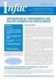 opioides en el tratamiento del dolor crónico no ... - Atención Primaria