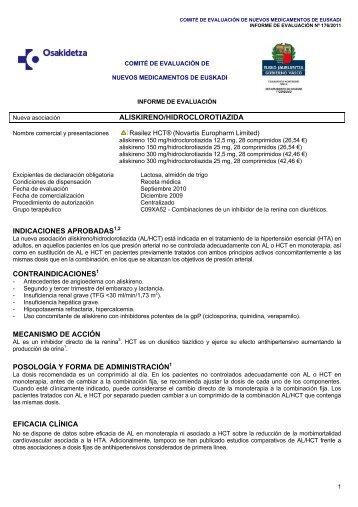 Informe - Osakidetza - Euskadi.net