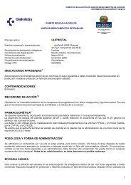 ulipristal indicaciones aprobadas1 contraindicaciones1 ... - Osakidetza