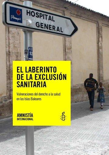 El laberinto de la exclusión sanitaria: Vulneraciones del ... - Osalde