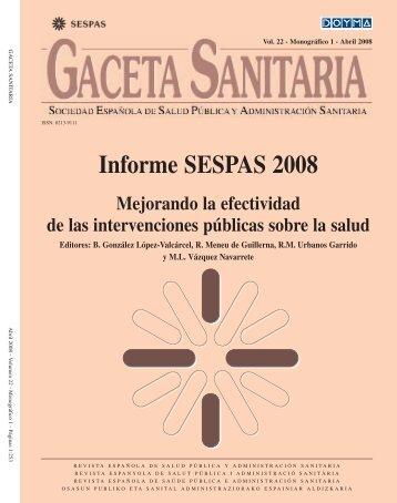 Informe SESPAS 2008 - El Médico Interactivo
