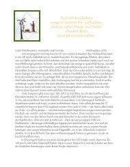 2012 Weihnachts-Brief von Sr. Michael Marie, Priorin