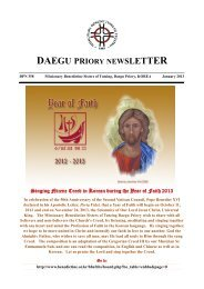 2013 January DPN 1 - Welcome to the Missionary Benedictine ...