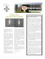 2012 June Norfolk Newsletter - Welcome to the Missionary ...
