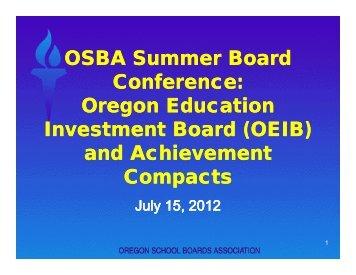 OEIB - Oregon School Boards Association