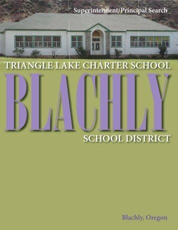 Blachly Superintendent/Principal Search 2011 - Oregon School ...