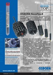 OSBORN Novoflex-B (PDF) - OSBORN International GmbH