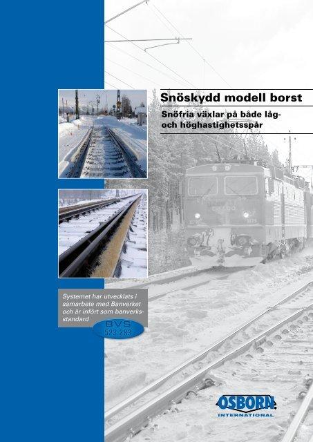 Snöskydd modell borst