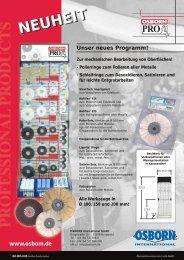 NEUHEIT - OSBORN International GmbH