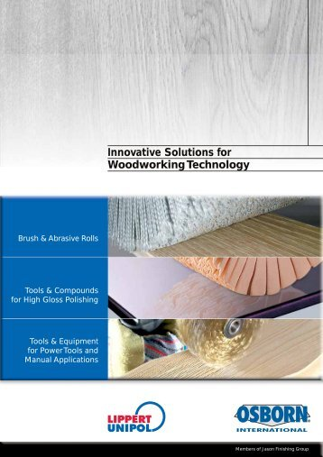 Innovative Solutions for Woodworking Technology - OSBORN ...