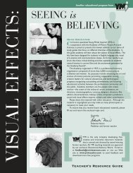 SEEING is BELIEVING - Academy of Motion Picture Arts and Sciences