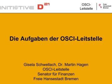 Die Aufgaben der OSCI-Leitstelle