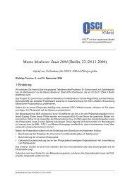 Messe Moderner Staat 2004 (Berlin, 23./24.11.2004) - OSCI