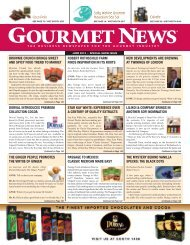 Gourmet News Special Edition for 2013 - Oser Communications Group