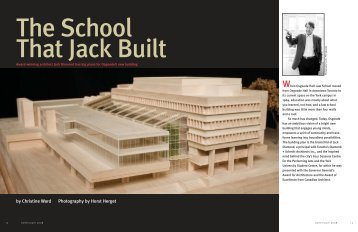 Jack Diamond - Osgoode Hall Law School - York University