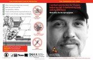 Fall PREVENTION FaCT SHEET I - OSHA